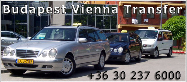 Taxi from Budapest to Vienna Airport
